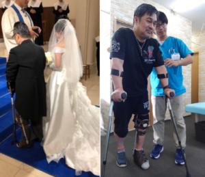 結婚式・リハビリの様子