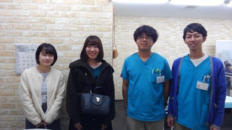 関東学院大学の学生さんがRE-gait体験